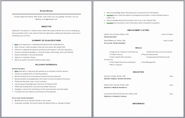 Beginner Actors Resume Best Resume Collection