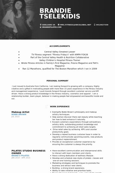 Beginner Makeup Artist Resume Best Resume Collection