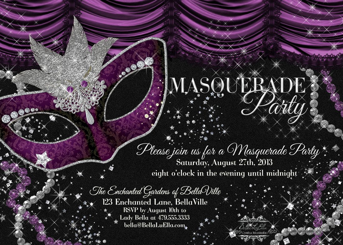 Bella Luella Masquerade Parties for Spring and Summer