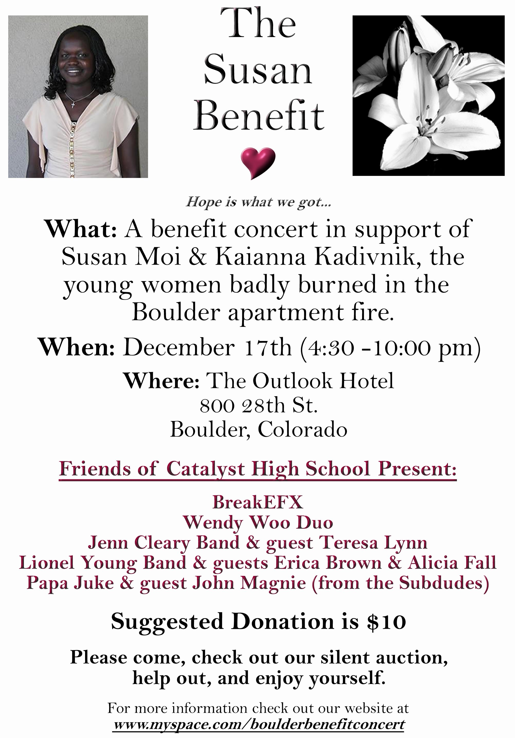 Benefit Fundraiser Flyer Template Image Search Results Picture