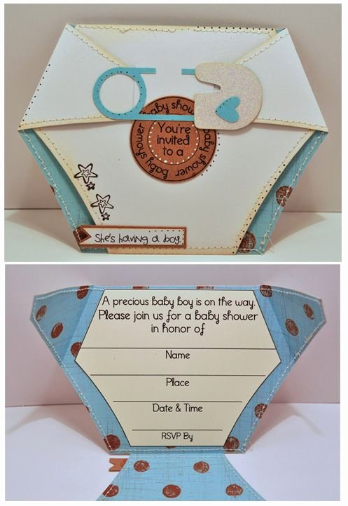 Best 20 Diaper Invitation Template Ideas On Pinterest