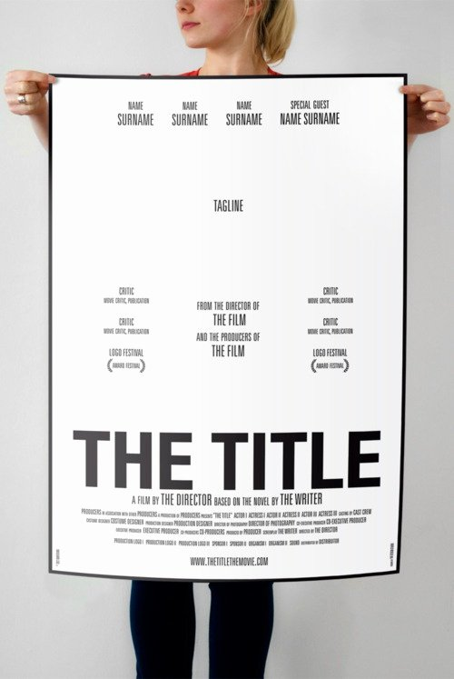 Best 20 Movie Poster Template Ideas On Pinterest