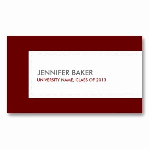 Best 21 Business Cards for College and University Students