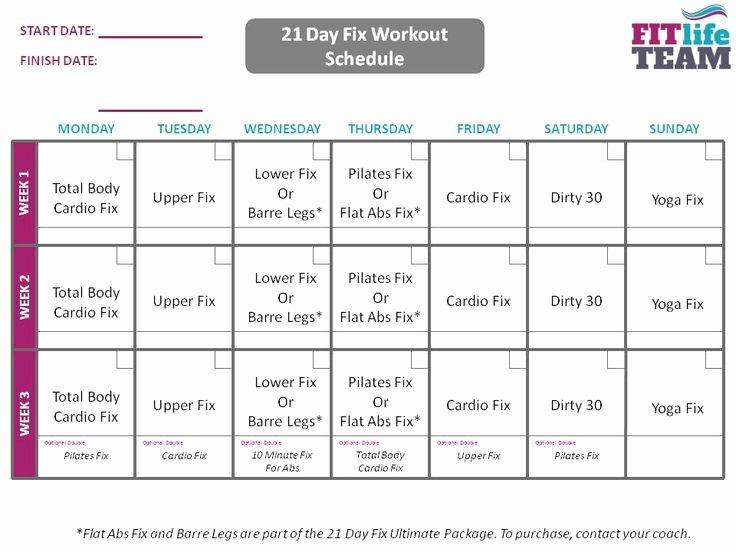 Best 25 21 Day Fix Schedule Ideas On Pinterest