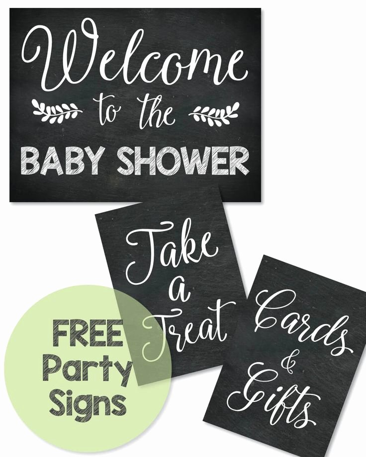 Best 25 Baby Shower Chalkboard Ideas On Pinterest