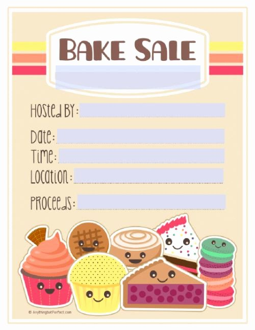 Best 25 Bake Sale Flyer Ideas On Pinterest