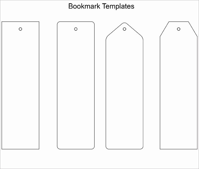 Best 25 Bookmark Template Ideas On Pinterest