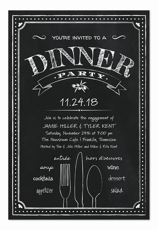 Best 25 Dinner Party Invitations Ideas On Pinterest