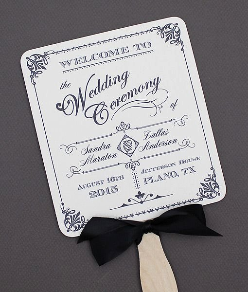 Best 25 Fan Wedding Programs Ideas Only On Pinterest