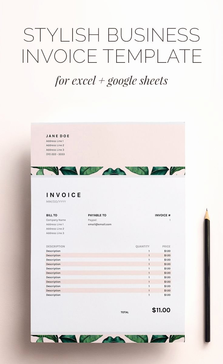 Best 25 Freelance Invoice Template Ideas On Pinterest