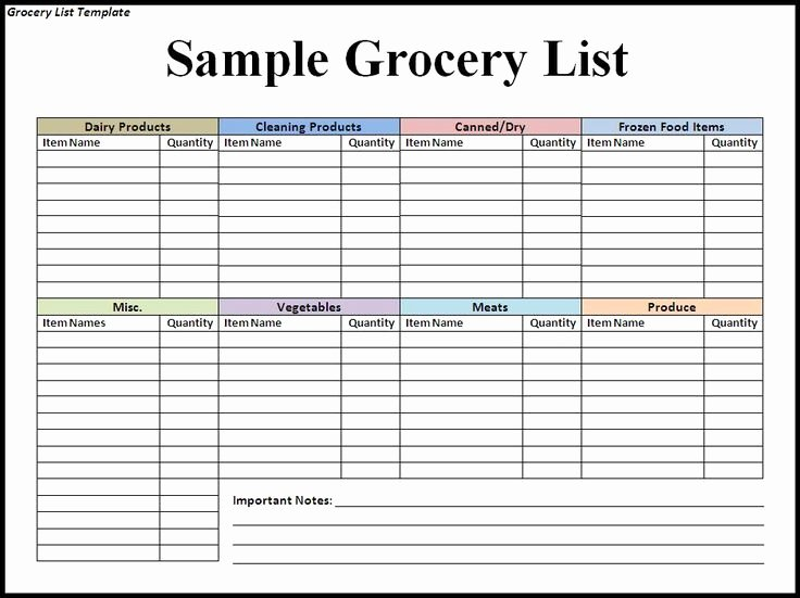 Best 25 Grocery List Templates Ideas Pinterest Diet