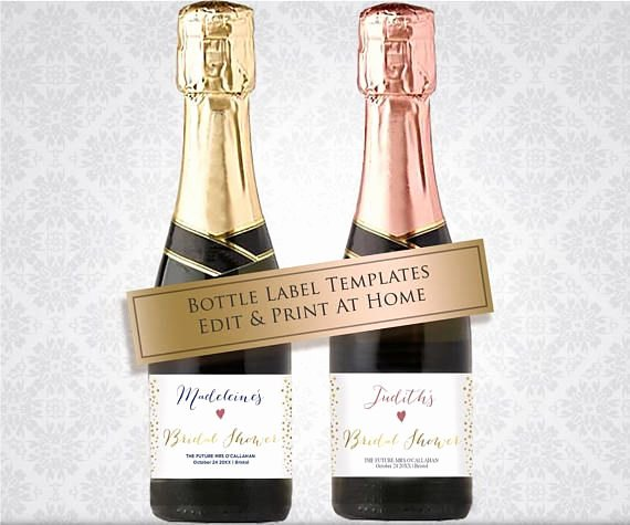 Learn How to Make these Chic Wine Bottle Wedding Favors