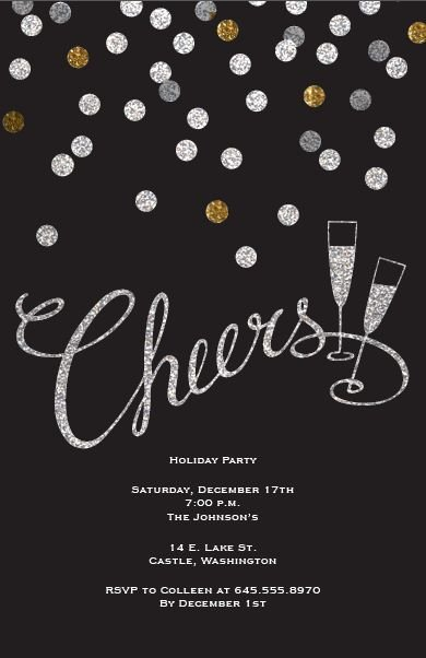 Best 25 New Years Eve Invitations Ideas On Pinterest
