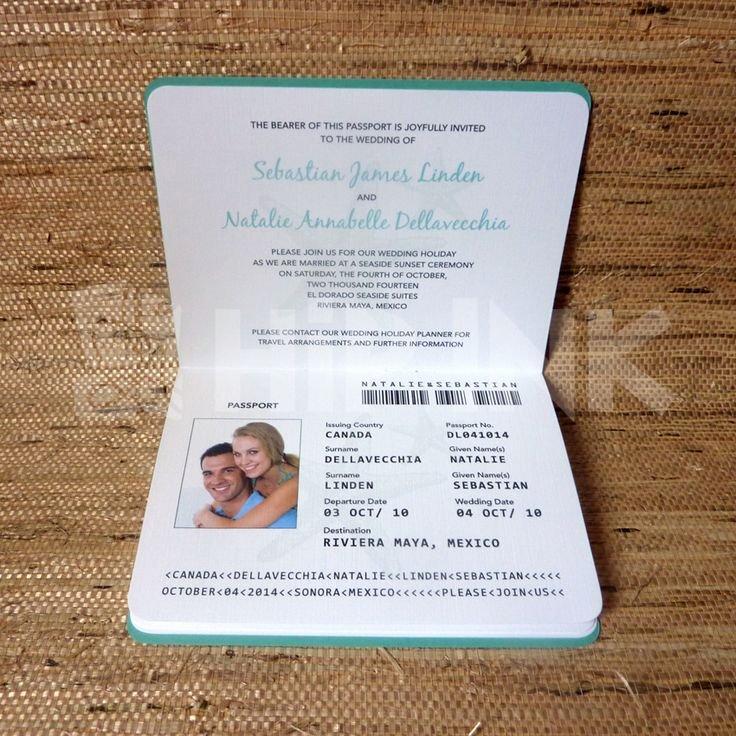 Best 25 Passport Invitations Ideas On Pinterest