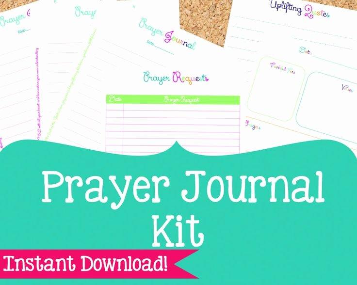 Best 25 Prayer Journal Template Ideas On Pinterest