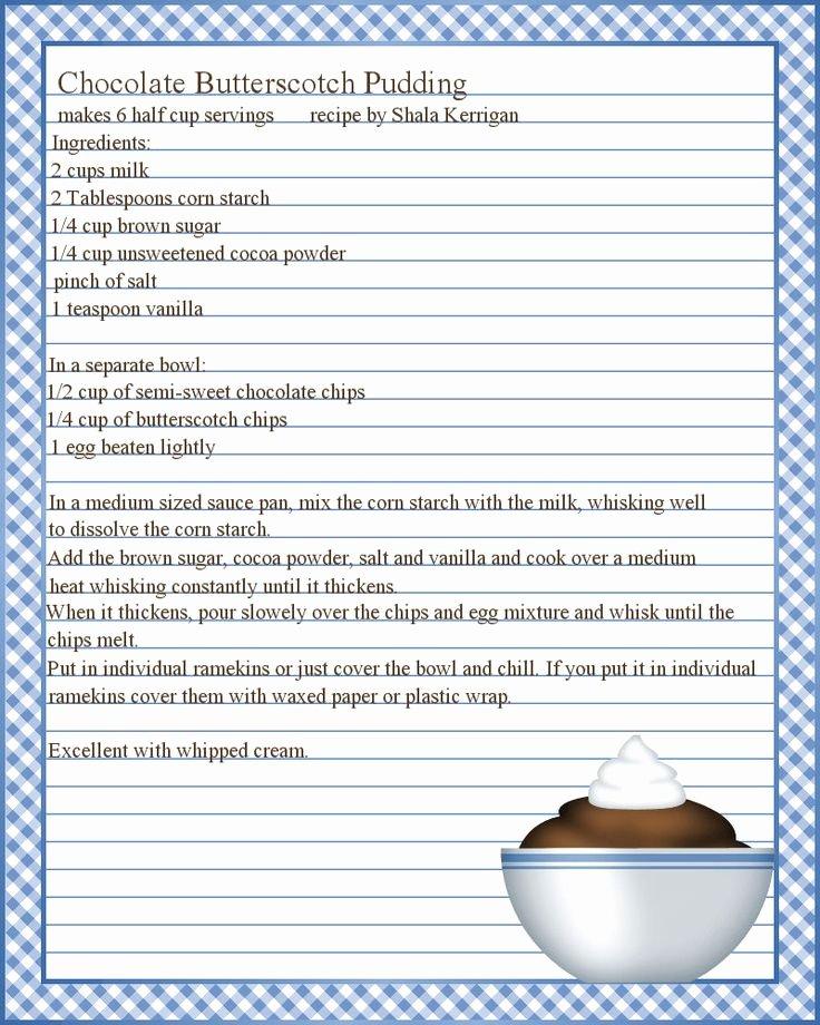 Best 25 Recipe Templates Ideas On Pinterest