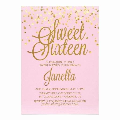 Best 25 Sweet 16 Invitations Ideas On Pinterest