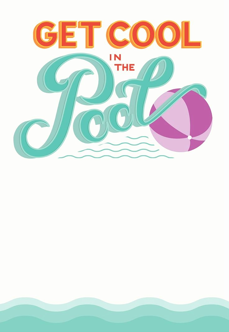 Best 25 Swim Party Invitations Ideas On Pinterest