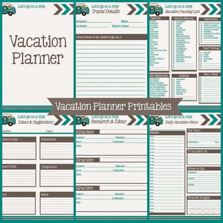 Best 25 Vacation Planner Ideas On Pinterest