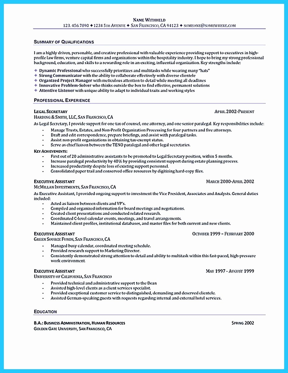 Best Administrative assistant Resume Sample to Get Job soon
