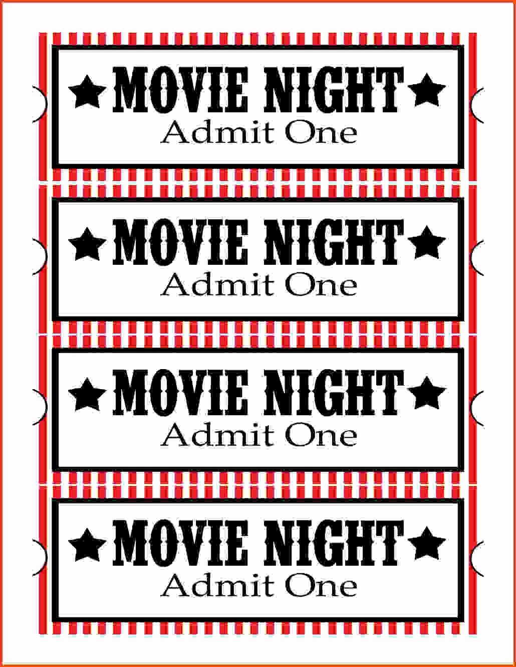 Best Admit E Movie Ticket Template Invitations Blank Jpg