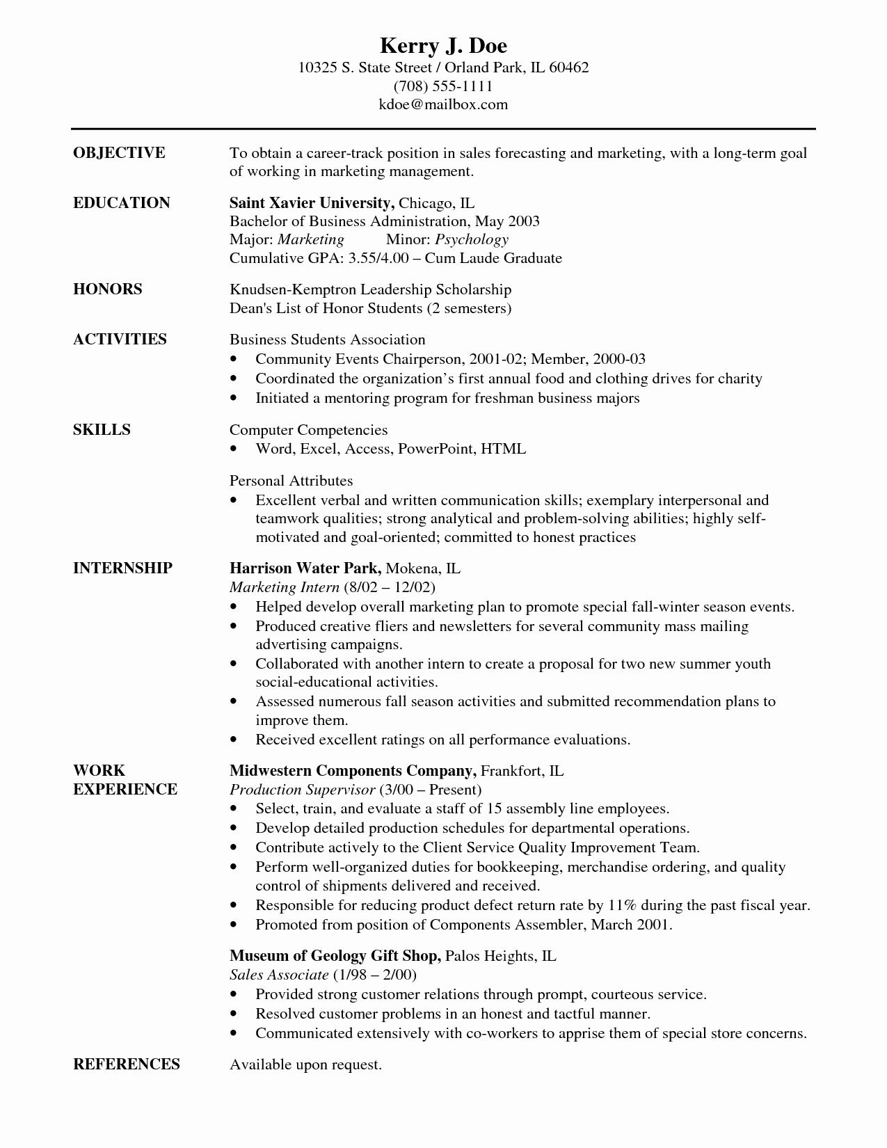 best career objective resume 2016