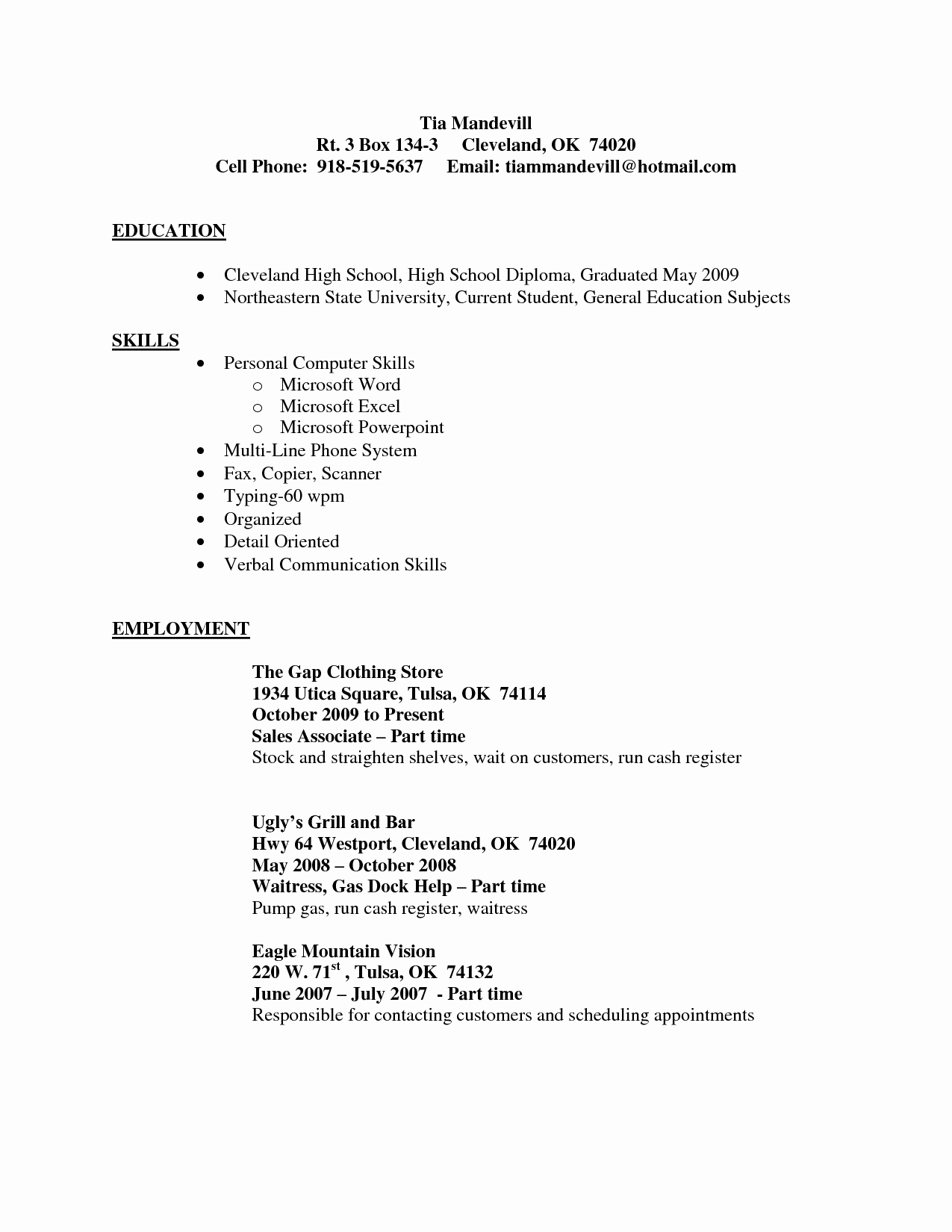 Best Cna Resume Nursing assistant Job Description In A