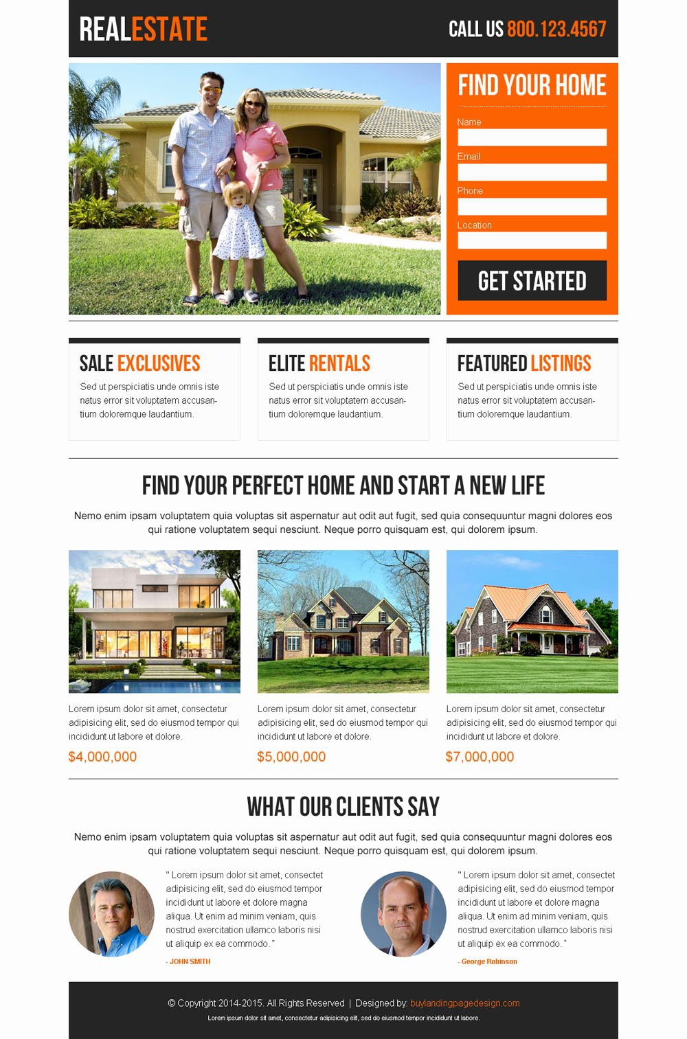 Best Converting Real Estate Landing Pages for Agents