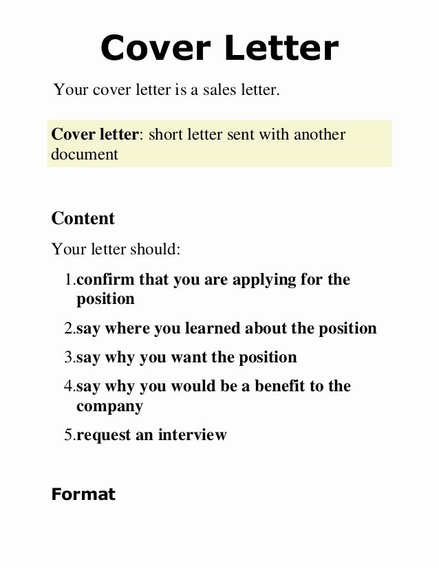 Best Cover Letter Sign F