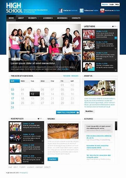 Best Education Website Templates