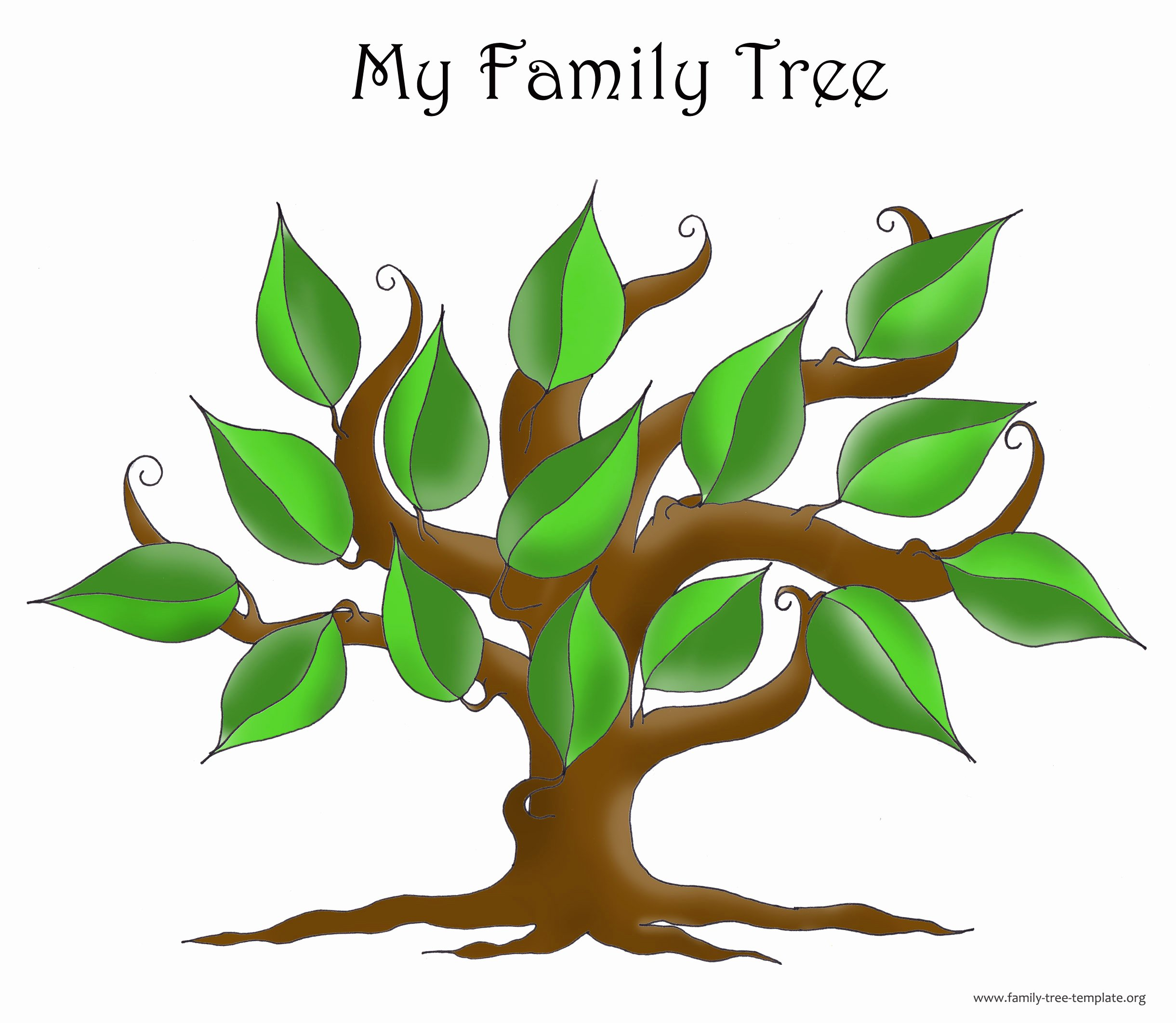 Best Family Tree Clipart Clipartion
