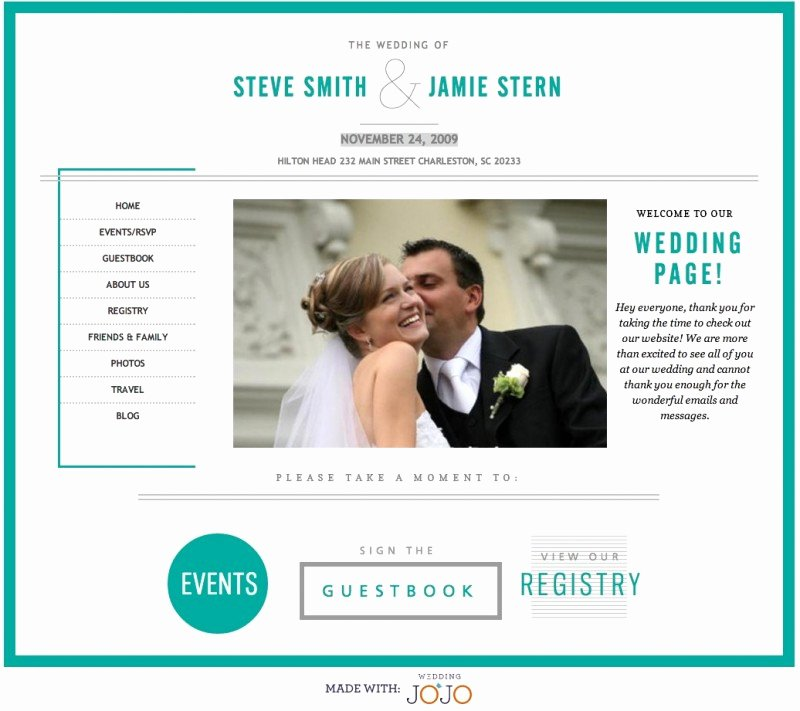 Best Free & Premium Wedding Website Templates