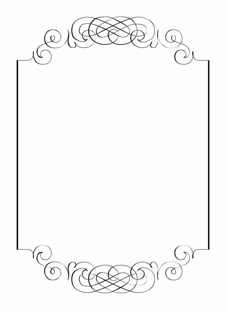 Best Free Blank Wedding Place Card Template