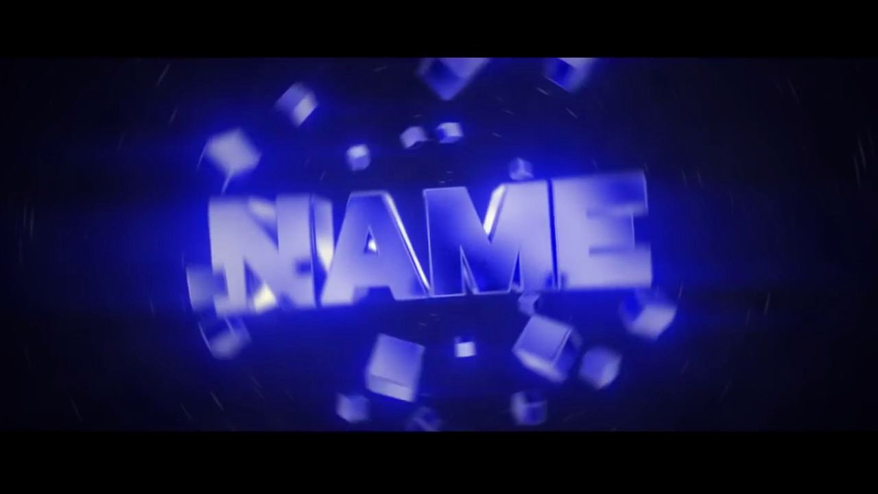Best Free Blue 3d Blender Intro Template Download