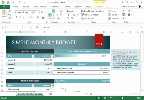 Best Free Bud Templates for Excel