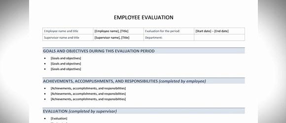 Best Free Employee Evaluation Templates and tools