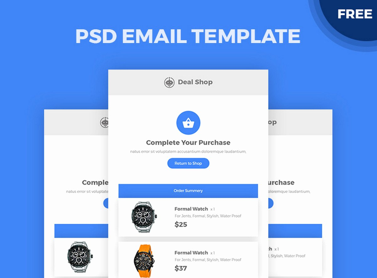 Best Free HTML Email Templates Of 2019 Designmodo