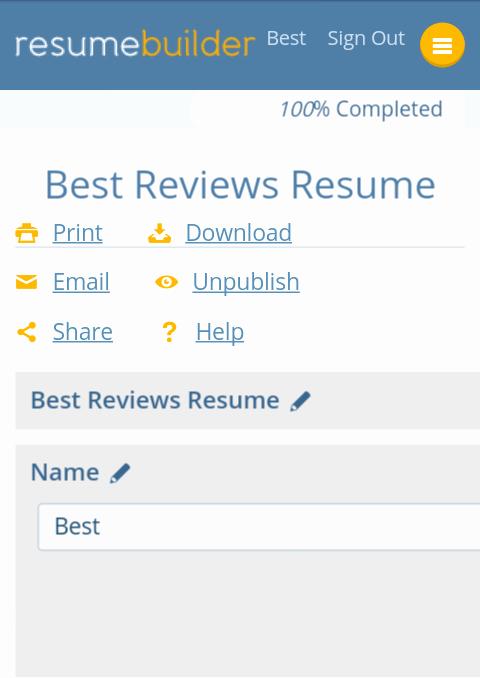 Best Free Line Resume Builder software Best Reviews