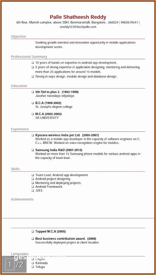 96+ Reddit Free Resume Templates - Reddit Resume Format