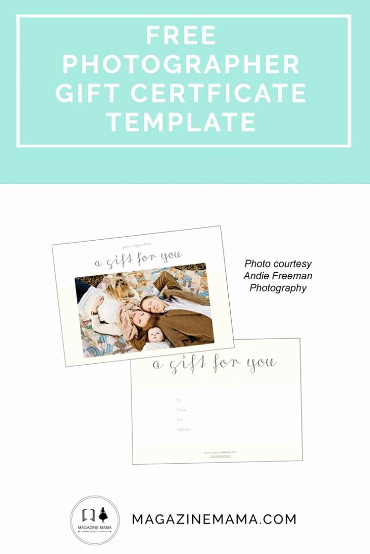 Best Gift Certificate Templates Ideas Graphy Gifts