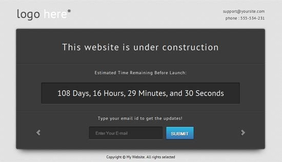 Best Ing soon & Under Construction Templates Free Paid