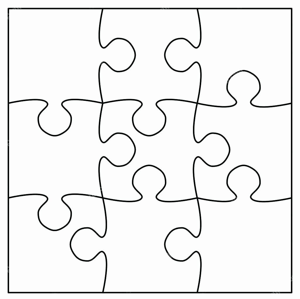Best Jigsaw Puzzle Coloring Page Collection