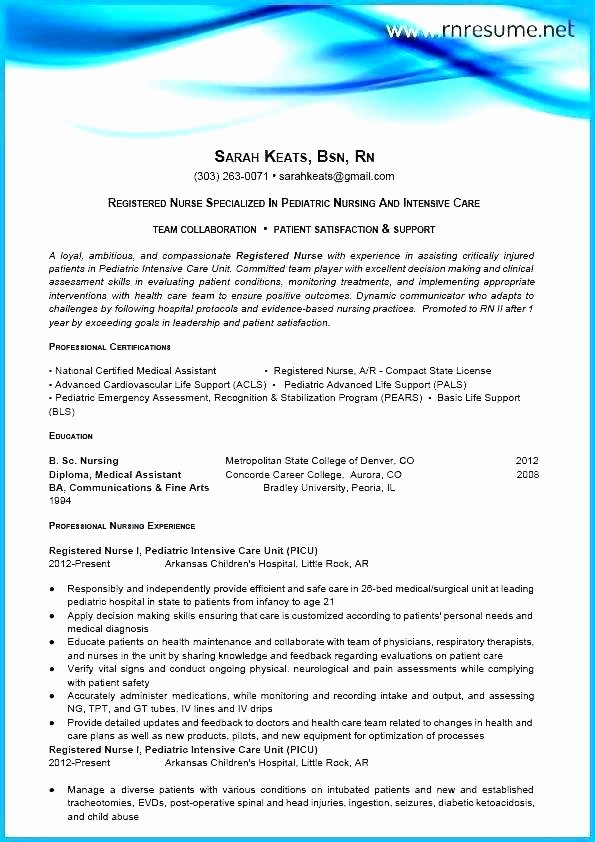 Best Nurse Resume Registered Practical Nurse Resume Sample