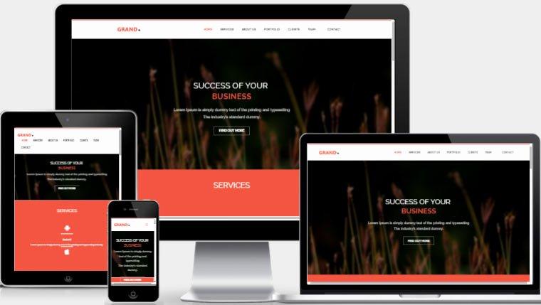 Best Personal Website Template Bootstrap Webthemez
