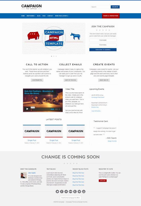 Best Premium HTML Non Profit Website Templates