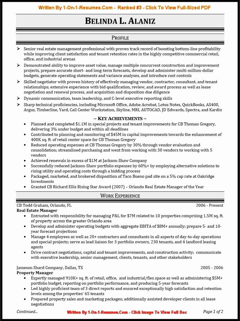 Best Professional Resume format