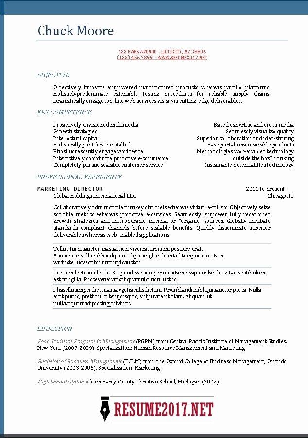 Best Resume Builder Site 2017