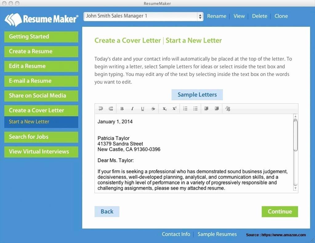 Best Resume Builder software for Mac Resume Resume
