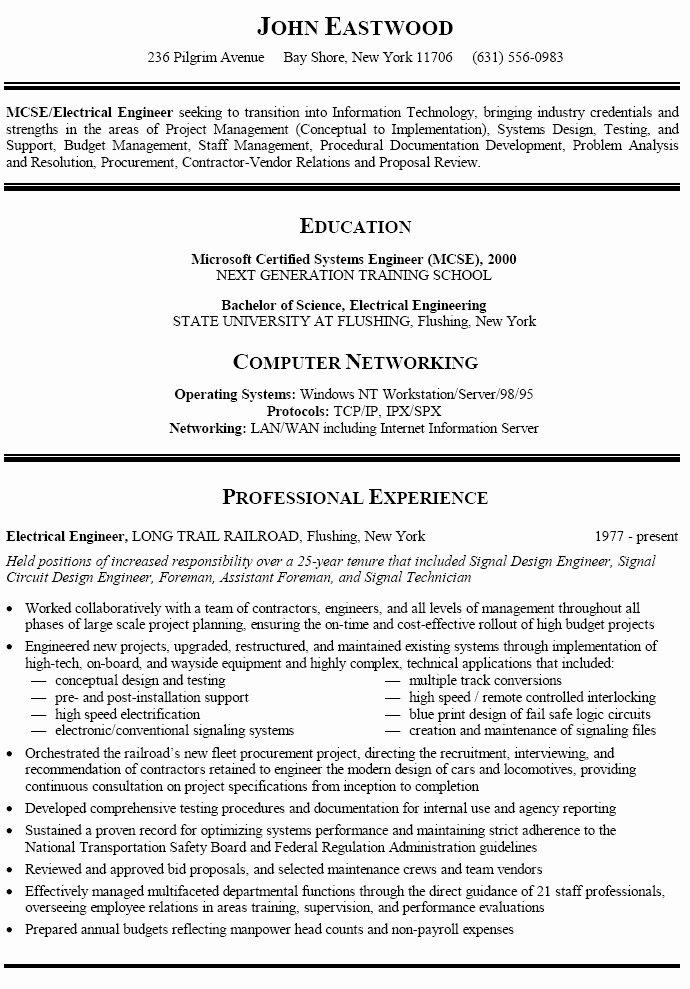 Best Resume format Career Change Templates Resume