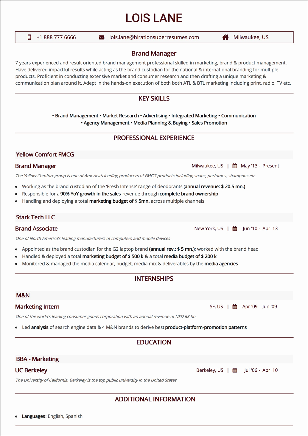 Best Resume Layout 2019 Guide with 50 Examples and Samples